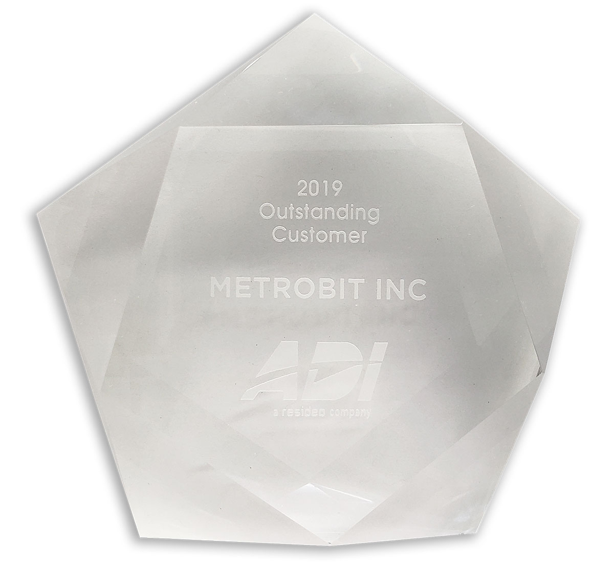 Metrobit was awarded as 2019 Outstanding Customer by ADI